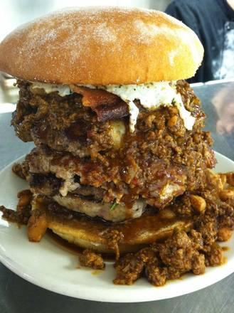 DMK Burger Bar best fried chicken in chicago;