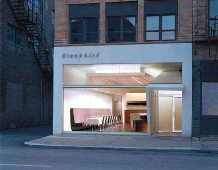 Blackbird best chicago rooftop restaurants;