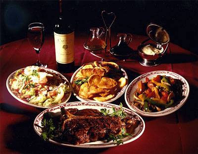 Gene and Georgetti  Best Steak Restaurant;
