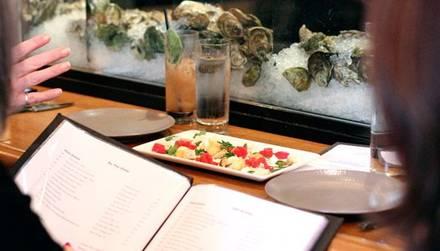 GT Fish & Oyster 5 star restaurants in chicago;