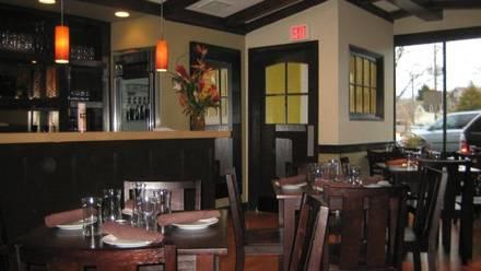 Due Lire best chicago rooftop restaurants;