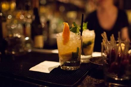 Gilt Bar best greek in chicago;
