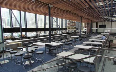 BIG Bar best chicago rooftop restaurants;