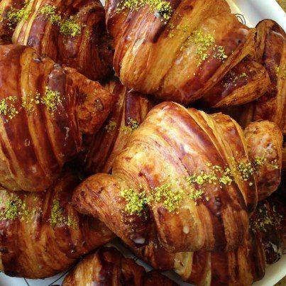 Floriole Cafe & Bakery best french bistro chicago; Pistachio croissants