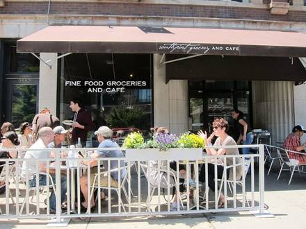 Southport Grocery & Cafe best chicago rooftop restaurants; Southport Grocery & Cafe