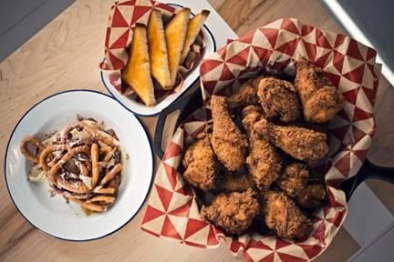 Parson's Chicken & Fish best french bistro chicago;