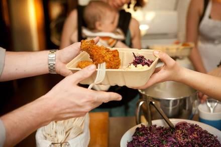 Honey Butter Fried Chicken best comfort food chicago; Honey Butter Fried Chicken