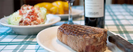 Gibsons - Chicago Rush St. USDA Best Steaks;