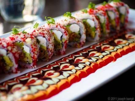 Yuzu Sushi & Robata Grill best chicago rooftop restaurants;