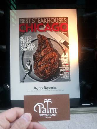 Palm Restaurant - Chicago Great Steakhouses;