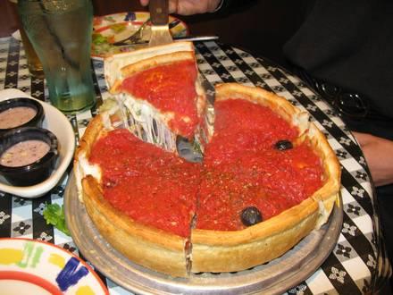 Edwardo's Natural Pizza best greek in chicago;