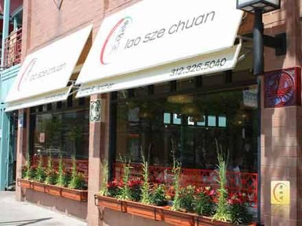 Lao Sze Chuan - Chinatown best chicago rooftop restaurants;