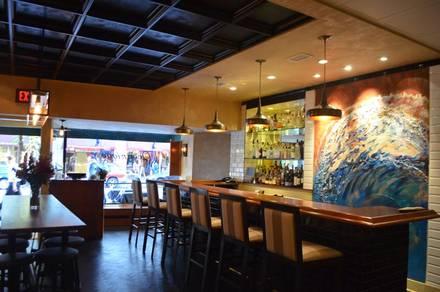 Oceanique best chicago rooftop restaurants;