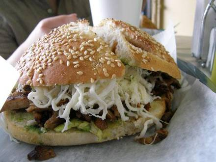Cemitas Puebla Fulton Market best comfort food chicago;