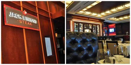 Jack Binion's Steakhouse prime steakhouse;
