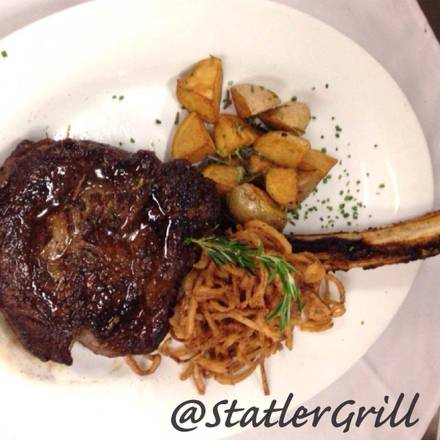 Statler Grill prime steakhouse;