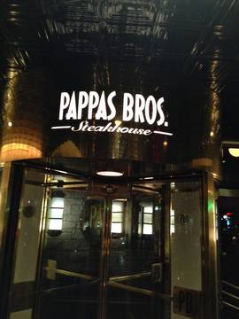 Pappas bros. steakhouse exterior