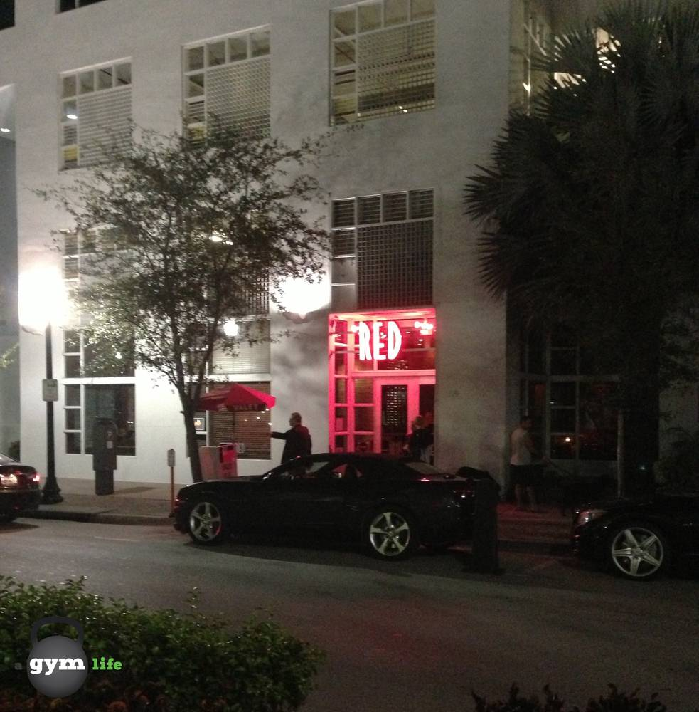 Red The Steakhouse Miami Beach Restaurant On Best