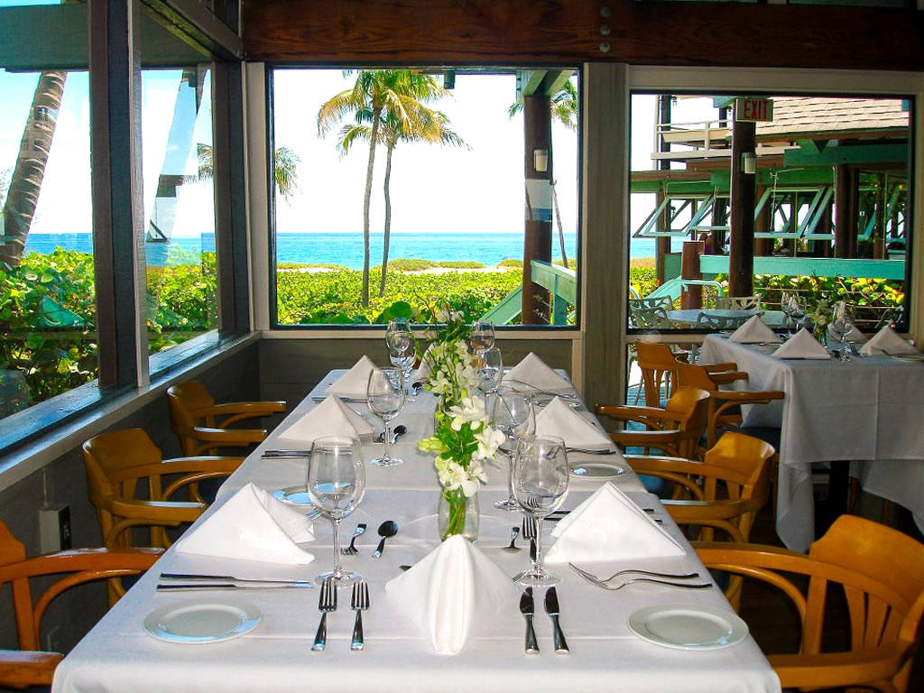 Seawatch On The Ocean Lauderdale By The Sea Restaurant On