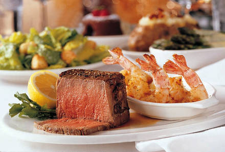 Morton's The Steakhouse prime steakhouse;