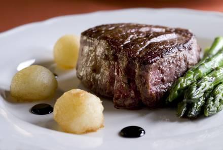 Morton's The Steakhouse USDA Best Steaks;