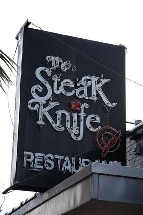 Steak Knife Restaurant & Bar USA's BEST STEAK RESTAURANTS 2alif018;