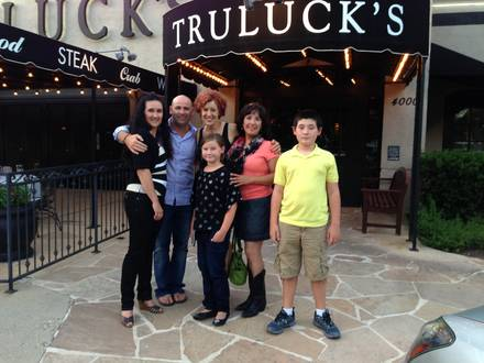 Truluck's prime steakhouse;