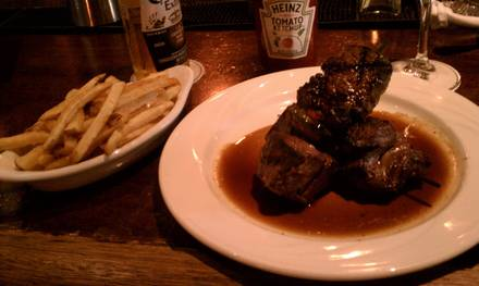 Keens Steakhouse USDA Best Steaks