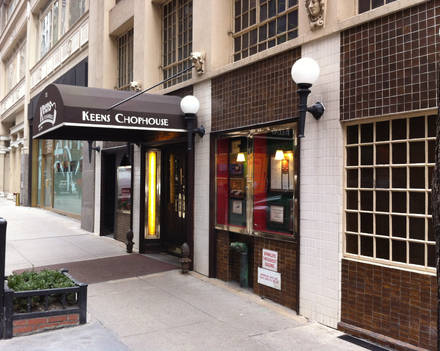 Keens Steakhouse Top 10 Steakhouse