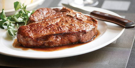 Morton's The Steakhouse USDA Best Steaks;