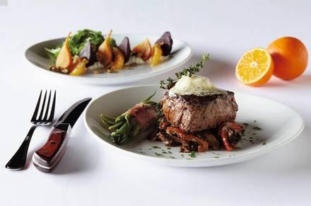 Fleming's Prime Steakhouse & Wine Bar 8970  Best Steak Restaurant;