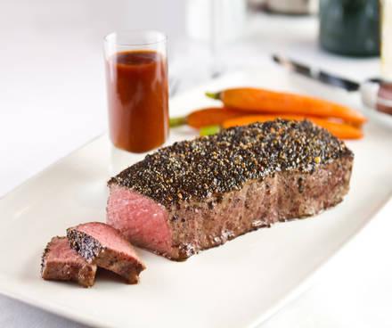 Fleming's Prime Steakhouse & Wine Bar 380 K USDA Prime Steaks;