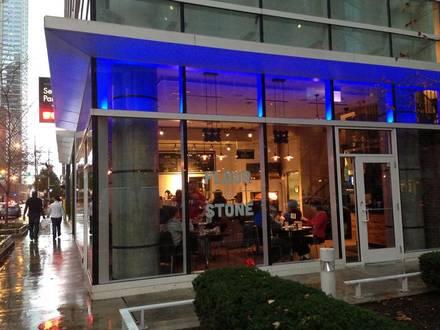 Flour & Stone best chicago rooftop restaurants;