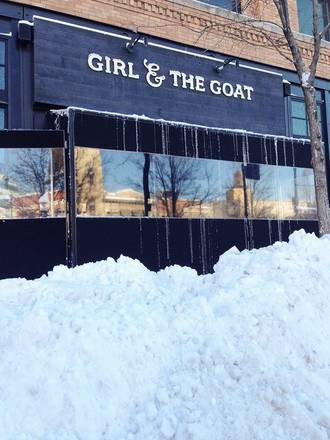 Girl and the Goat best comfort food chicago;