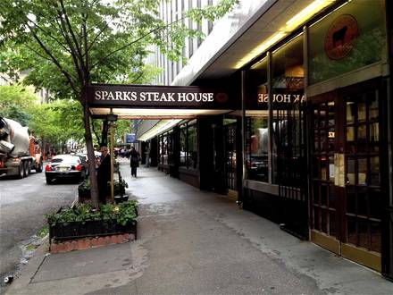 Sparks Steak House Best Prime Steak 2017