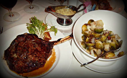 Eddie Merlot's USDA Best Steaks;