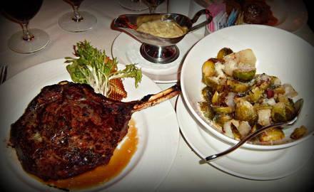 Eddie Merlot's Montgomery Road USDA Prime Steaks;