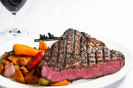 Metropolitan Grill prime steakhouse;
