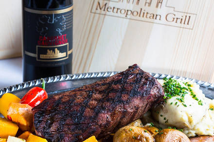 Metropolitan Grill Best Steak Restaurant;