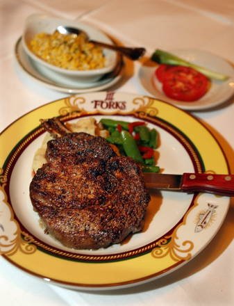 III Forks Best Steak
