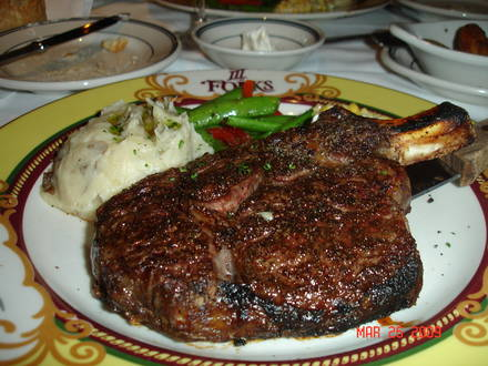 III Forks Best Steak Restaurant;