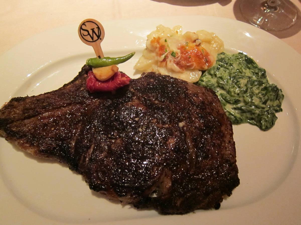 Sw steakhouse restaurant on best steakhouse restaurants 2018 - Cuisine conforama las vegas ...