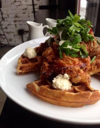 Charlatan best comfort food chicago;