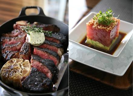 BLT Steak Las Vegas prime steakhouse;