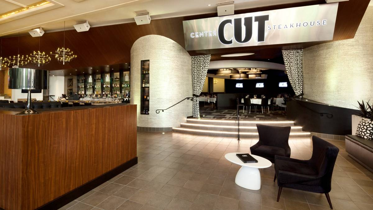 Center cut steakhouse restaurant on best steakhouse for Dining at at t center