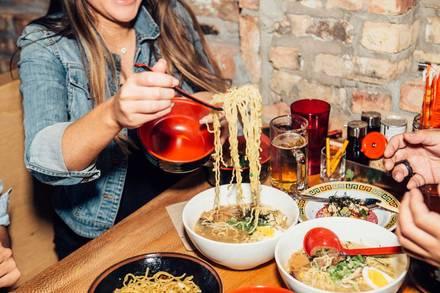 Ramen-San best comfort food chicago;