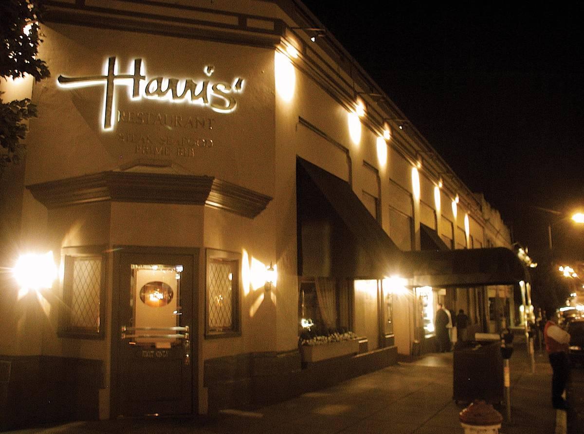 Harris The San Francisco Steakhouse San Francisco
