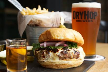 DryHop Brewers best comfort food chicago; DryHop Brewers