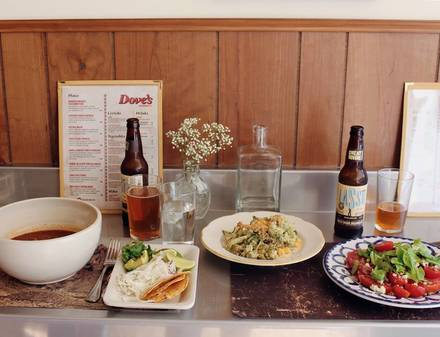 Dove's Luncheonette best comfort food chicago;