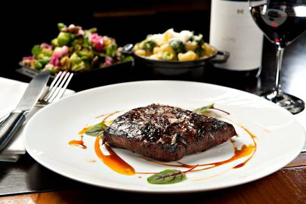 Bourbon Steak USDA Prime Steaks;